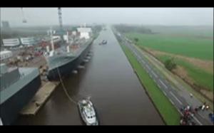 Wodowanie statku