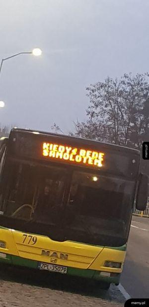 Śmieszki kierowców autobusów w Szczecinie