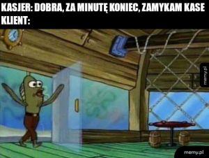 żabka o 23