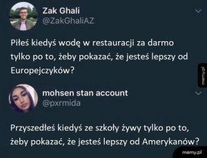 Amerykanie vs Europejczycy