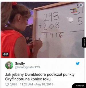 Punkty Gryffindoru