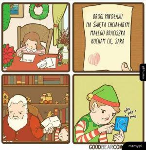 Drogi Mikołaju