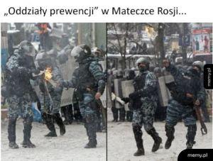 Oddziały prewencji w Rosji
