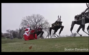 Święta w Boston Dynamics
