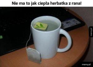 Pyszna herbatka