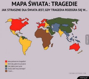 Mapa tragedii