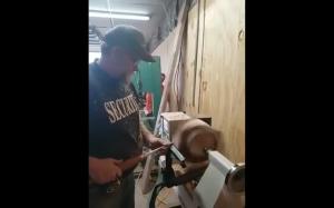 Praca w drewnie