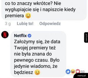 Netflix umie w internety