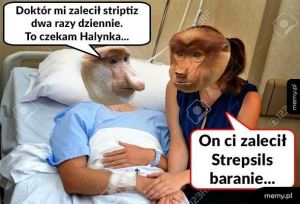 Doktór zalecił striptiz