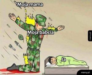 Mama vs babcia