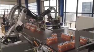 Roboty grają w tetris