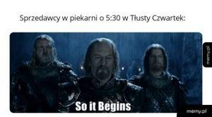 Tłusty Czwartek is coming