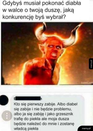 Walka z diabłem