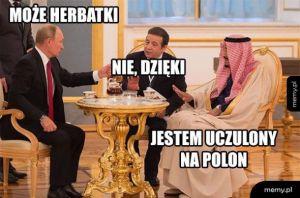 Herbatka u Putina