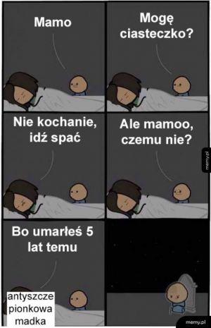 Idź spać synku