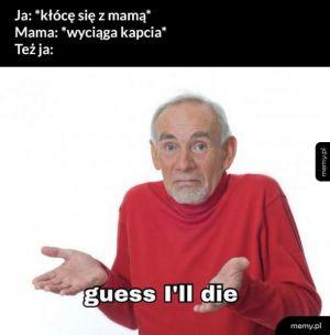 Kłótnia z mamą