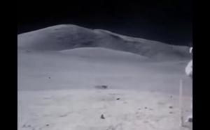 Nagranie z księżyca w przyśpieszonym tempie