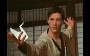moja ulubiona scena z matrixa