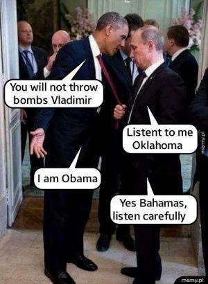 Obama i Putin