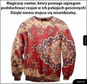 Szpiegowski sweter