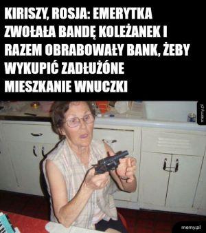 Hardcorowa emerytka