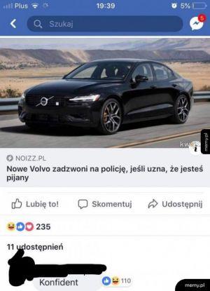 Volvo konfidentem ?