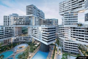 Niesamowite budynki w Singapurze