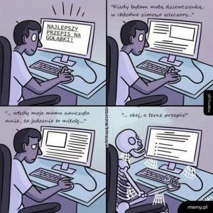 Przepisy z blogów