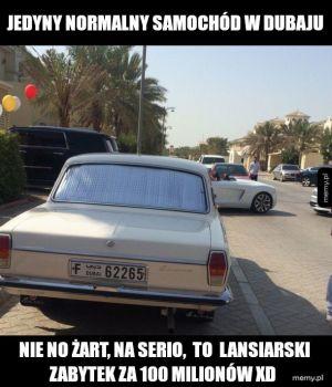 Motoryzacja w Dubaju