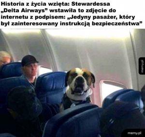 Jedyny odpowiedzialny pasażer