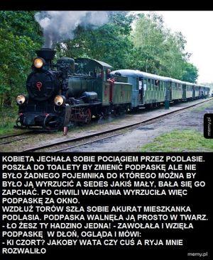 Przygody pani Jadźki z Podlasia
