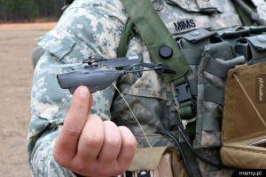 Wojskowy Dron warty 40 tysięcy dolarów