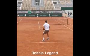 Roger Federer skill