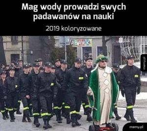 Uczniowie Maga Wody