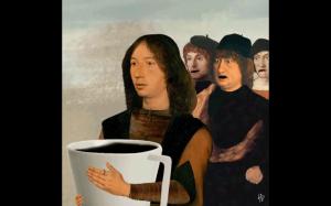 Czas na poranną kawę