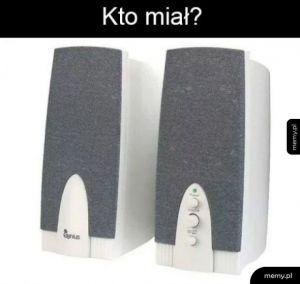 Głośniki
