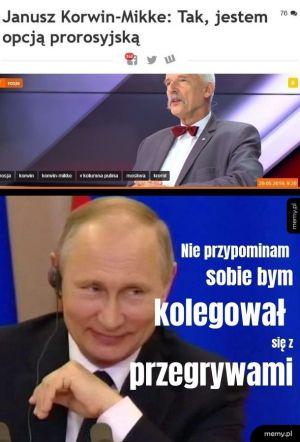 Korwin i Putin