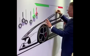 Lamborghini wylepione z taśmy