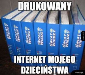 Internet mojego dzieciństwa