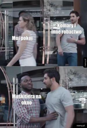 Komary don't like it