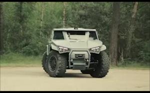 Wojskowy model Volvo