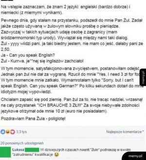 Żul poliglota