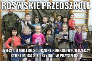 Rosyjskie przedszkole