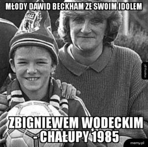 Wodecki i Beckham