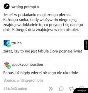 Dora świat poznaje
