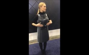Sukienka z programowaniem kolorów