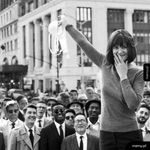 1 Sierpnia 1969. San Francisco. Protest przeciwko noszeniu staników.
