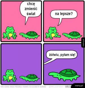 Żółw i żab