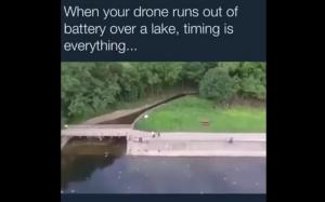 Na ratunek drona