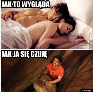 Spanie z laska
